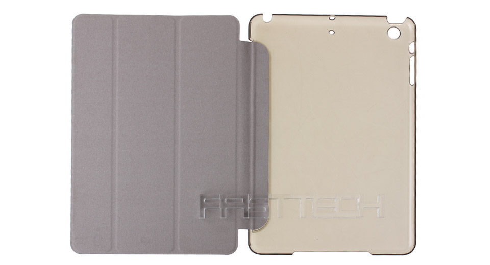 Product Image: protective-pu-pvc-flip-open-smart-case-for-ipad