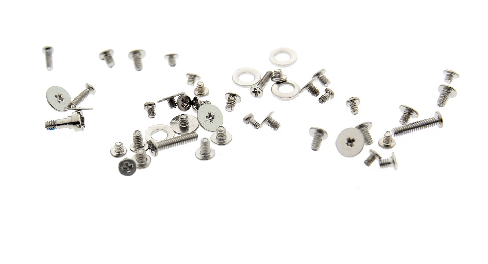 Full Replacement Screws Set w/ O-rings for iPhone 4