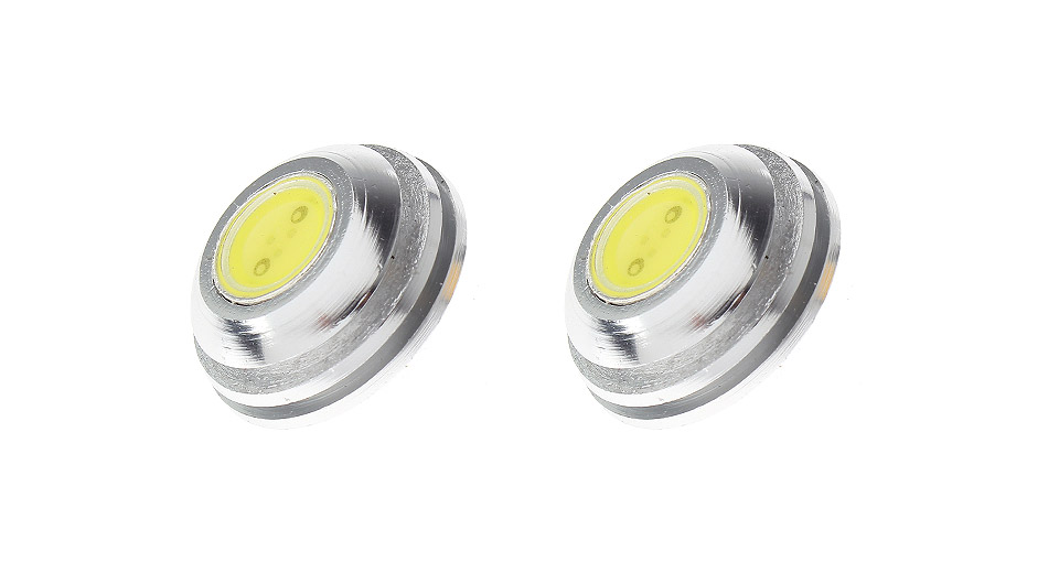 AX118 G4 2W 1-LED 110LM 6000-7000K Neutral White LED Light Bulbs (2-Pack)