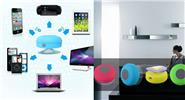 BTS-06 Water Resistant Mini Bluetooth V3.0 Speaker w/ Microphone