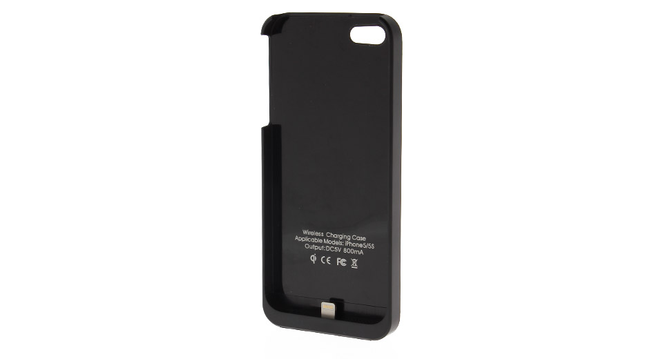 Qi Inductive Wireless Charging Sleeve for iPhone 5/5S