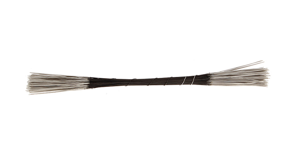 Pre-made Welded Wires - NR-R-NR (100-Pack) Wire, 2.6ohm, 0.17mm*1.05m, 100-Pack(NR-R-NR)