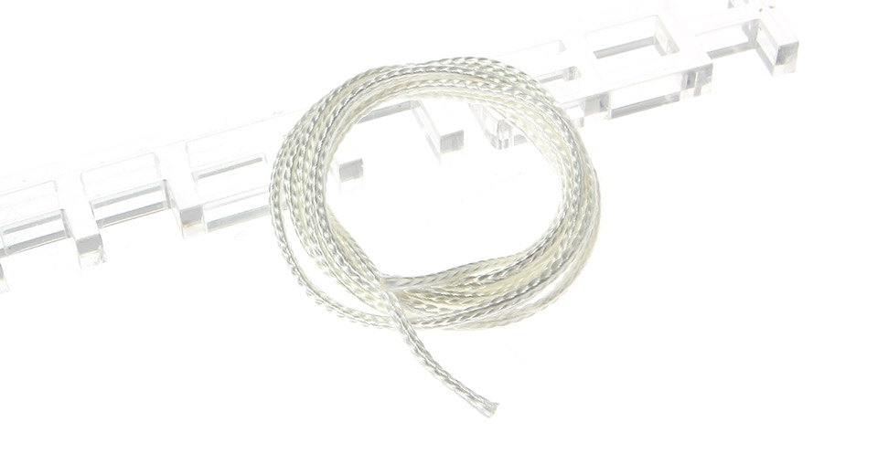 Braided Silica Wick Rebuildable Atomizers Wick, 2.5mm*10m