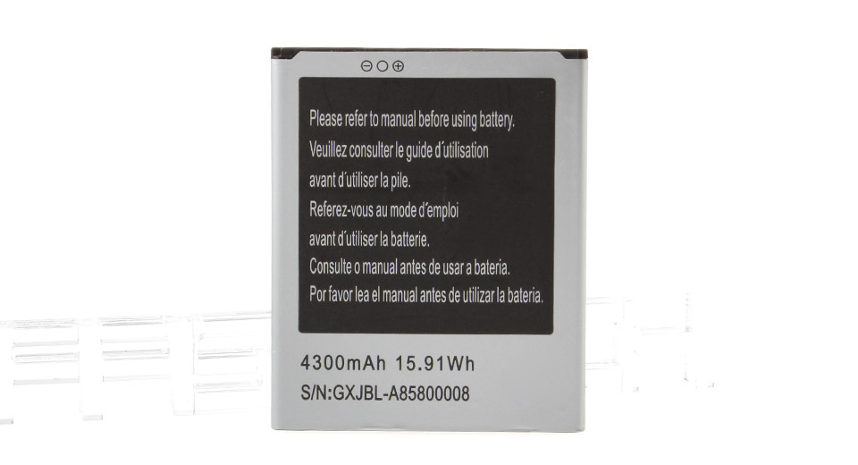 Replacement 3.7V 4300mAh Li-Ion Battery for N8800 Smartphone