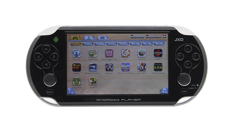 "Image of JXD S5110b 5"" LCD Dual-Core Android 4.1 Jellybean Smart Game Console (8GB)"