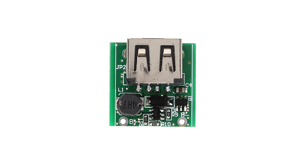 SC-0241 1.3A DIY Single USB Mobile Power Bank PCB Module SC-0241, USB: 21.6*20.9*10.4mm
