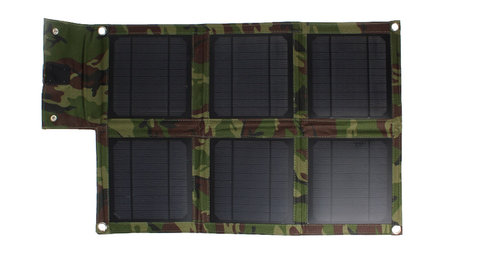 15W Folded Solar Power Panels Mobile Phone Charger (6pcs)