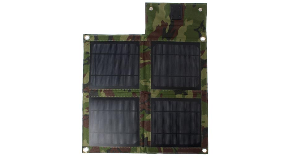 Image of 10W Folded Solar Power Panels Mobile Phone Charger (4pcs)