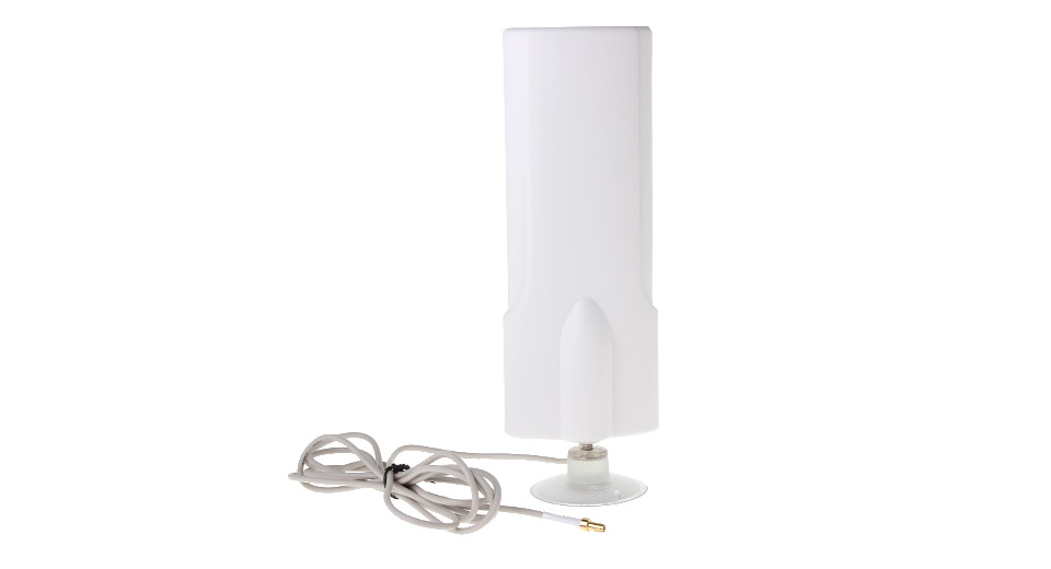 W425 4G 25dBi TS9 Male Gain Antenna w/ Suction Cup