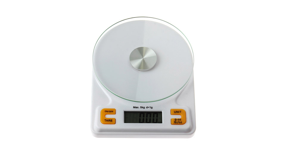 "Image of 0.7"" LCD 5kg/1g Digital Kitchen Scale"