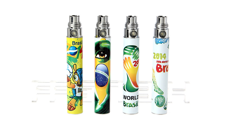 2014 FIFA World Cup Brazil eGo 900mAh Rechargeable Battery (4-Pack)