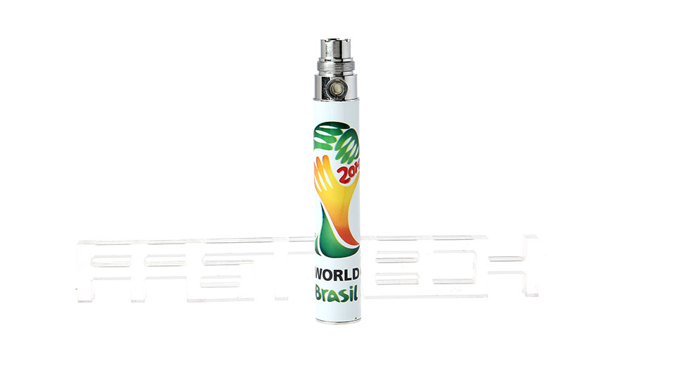 2014 FIFA World Cup Brazil eGo 900mAh Rechargeable Battery