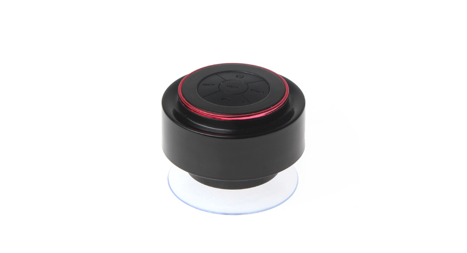 Suction Cup Bluetooth Speaker Supports Handsfree Call