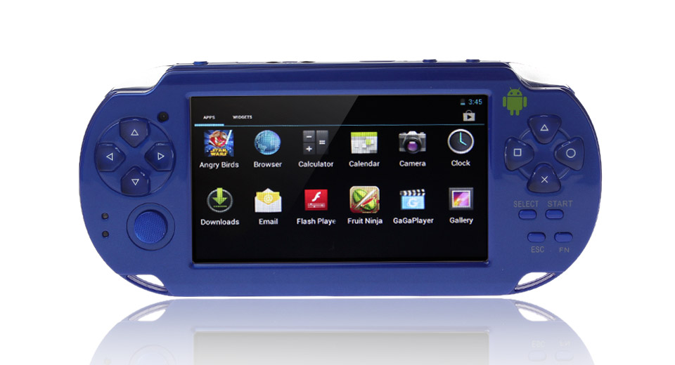 "Image of C4302 4.3"" Screen Single-Core Android 4.0.4 ICS Game Console (4GB)"