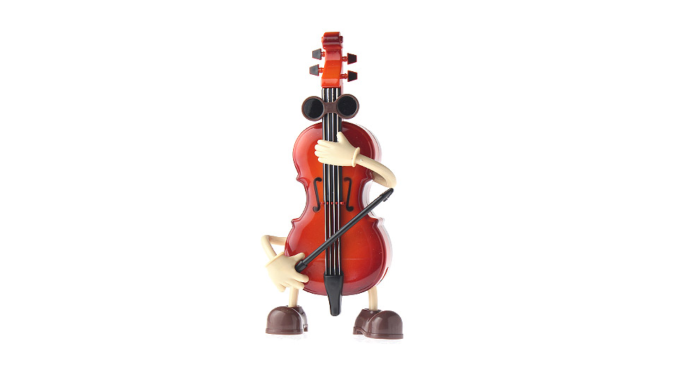 Cartoon Violin Images: $8.30 Cute Cartoon Violin Music Box At FastTech