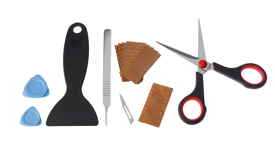Kaisi 1204 6 Pieces Screen Guard Tools Set
