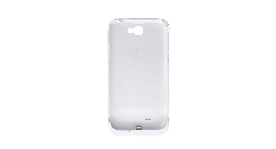 4200mAh Rechargeable External Battery Back Case for Samsung Galaxy Note II