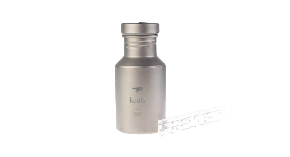 Keith Ti30 Titanium Sport Water Bottle (400ml)