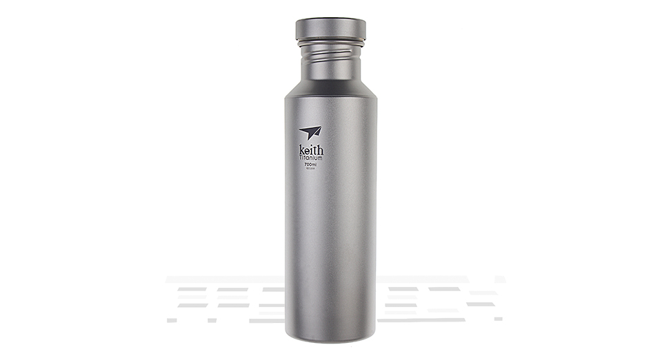 Keith Ti32 Titanium Sport Water Bottle (700ml)