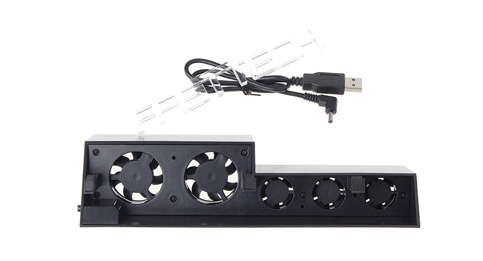 Automatic Cooling Fan for PS4 Gaming Console