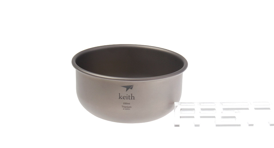 Keith KT331 Titanium Bowl (220ml)