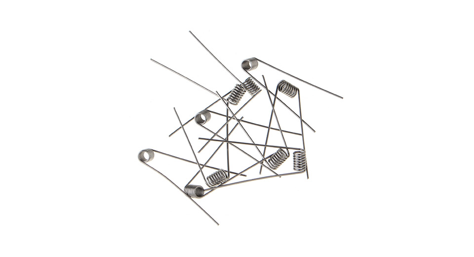 Image of Pre-Coiled Wires for Rebuildable Atomizers (10-Pack)