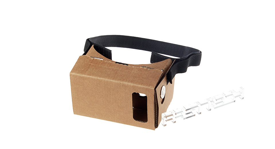 J004 DIY Google Cardboard Virtual Reality 3D Goggles
