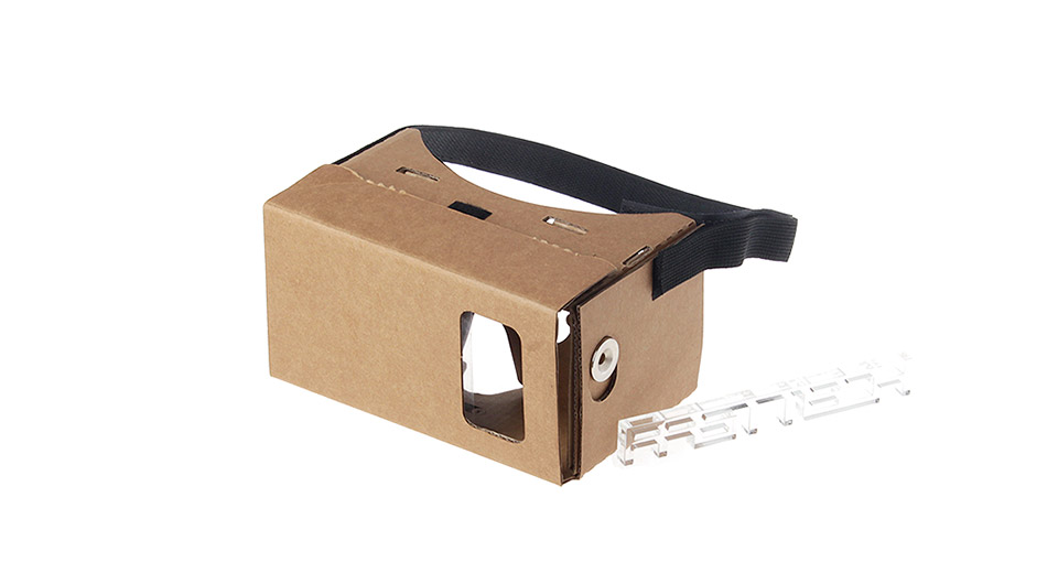 J003 DIY Google Cardboard Virtual Reality 3D Goggles