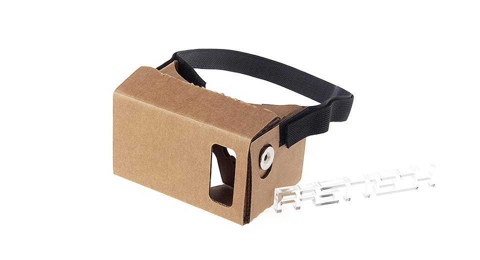 J002 DIY Google Cardboard Virtual Reality 3D Goggles