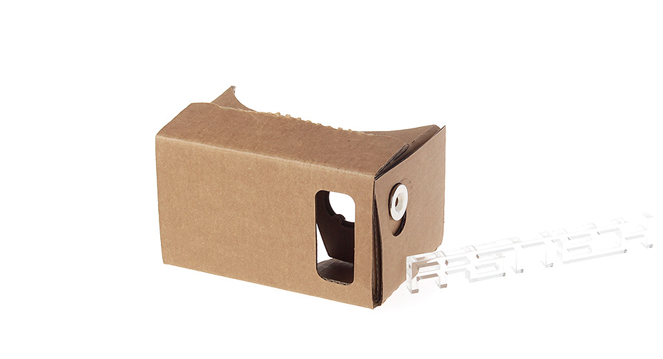 J001 DIY Google Cardboard Virtual Reality 3D Goggles