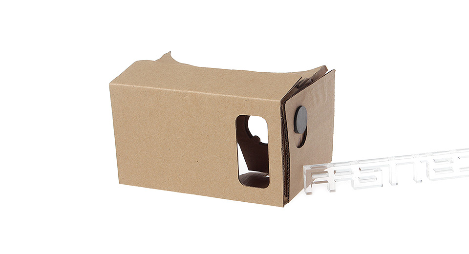 DIY Google Cardboard Virtual Reality 3D Glasses