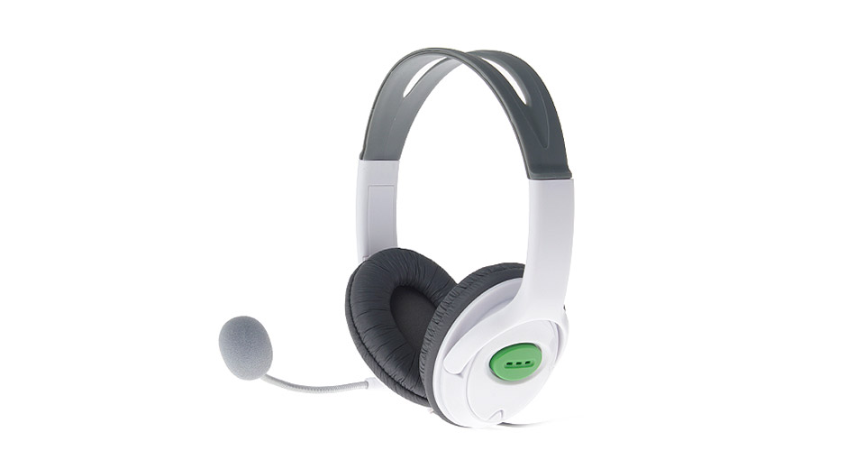 2.5mm Wired Headset w/ Microphone for Xbox 360 on Corzac Games