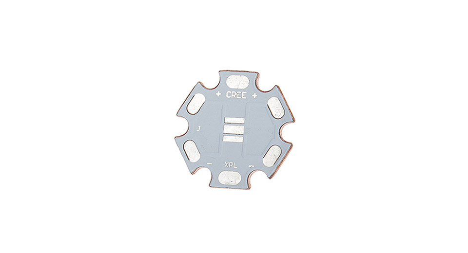 20mm Copper Base Plate for Cree XP-L / XP-G2 LED Emitters