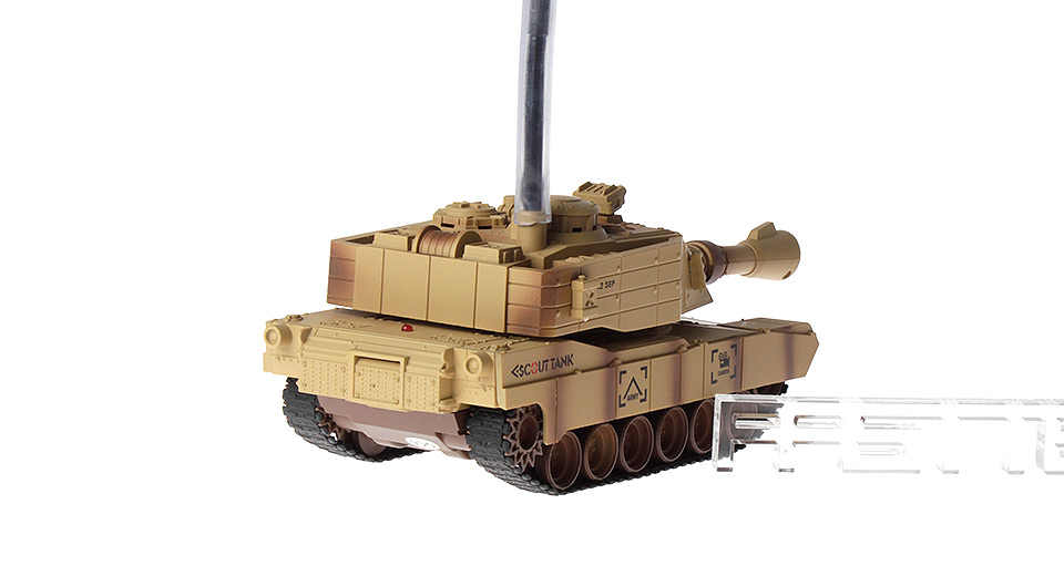 Image of JD805 4-Channel R/C Scouting Tank w/ Camera