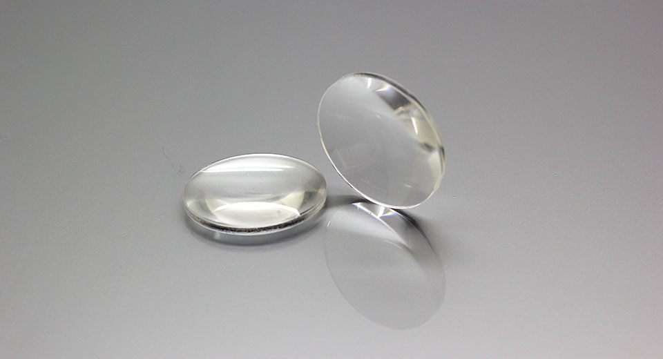 25mm Acrylic Biconvex Lens (2-Pack)