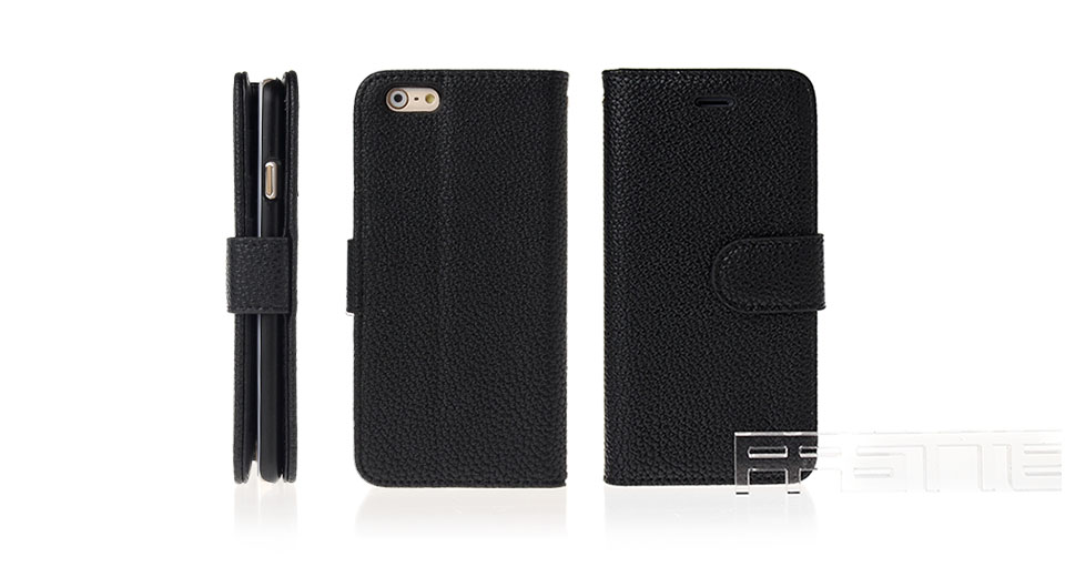 Protective PU Leather + PC Flip-Open Case for iPhone 6