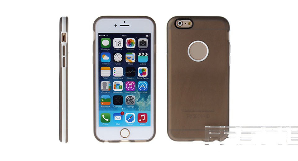 Image of 2-in-1 TPU + PC Hybrid Back Case for iPhone 6
