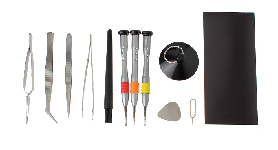 Chrome-Vanadium Alloy Steel Disassembling Tools Kit for iPhone 4/4S/5/5s
