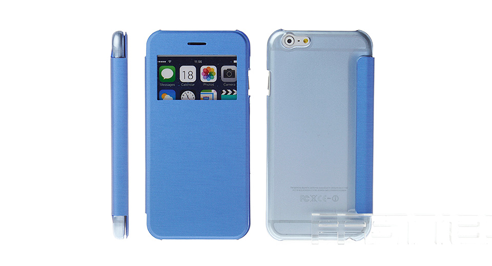 Protective PU + PC Flip-Open Case for iPhone 6