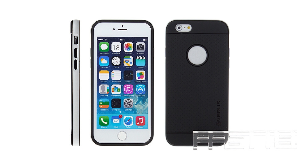 Image of 2-in-1 Detachable Silicone + PC Back Case for iPhone 6