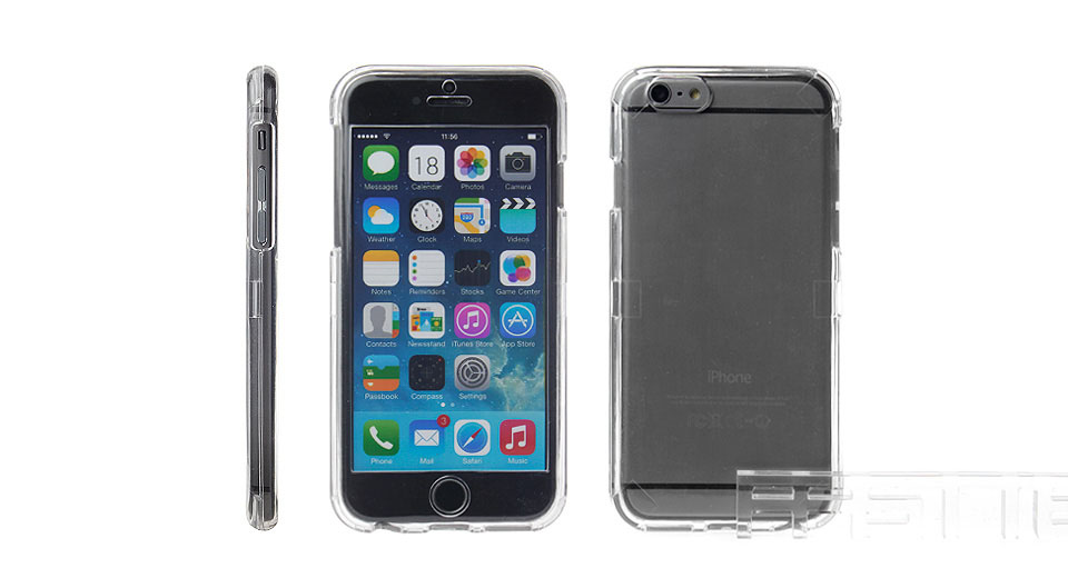 Image of 2-in-1 Protective PC Front&Back Case for iPhone 6