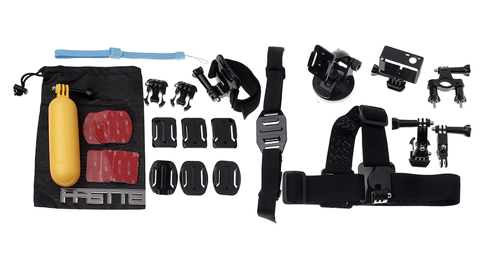 Image of 12-in-1 Camera Mount Accessories Set for GoPro HERO3+ / HERO3 / HD HERO2