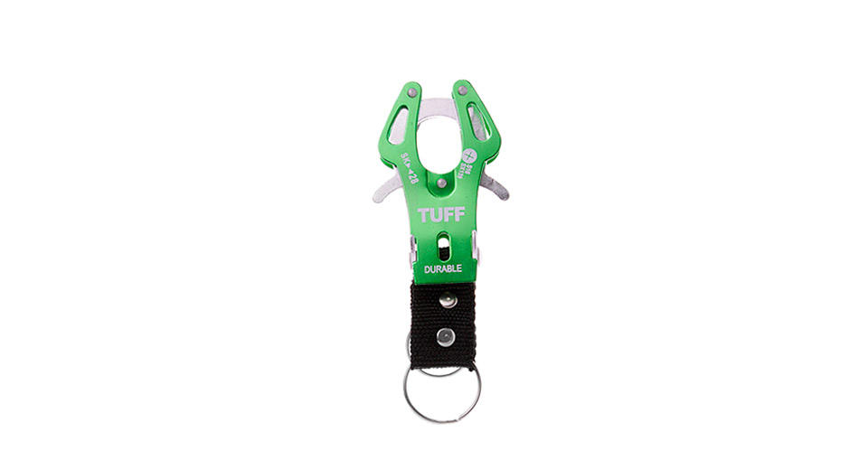 TUFF Portable Outdoor Hiking Aluminum Alloy Carabiner Buckle (Size L)