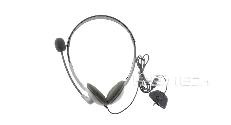 Image of 2.5mm Wired Gaming Headset w/ Microphone for Xbox 360