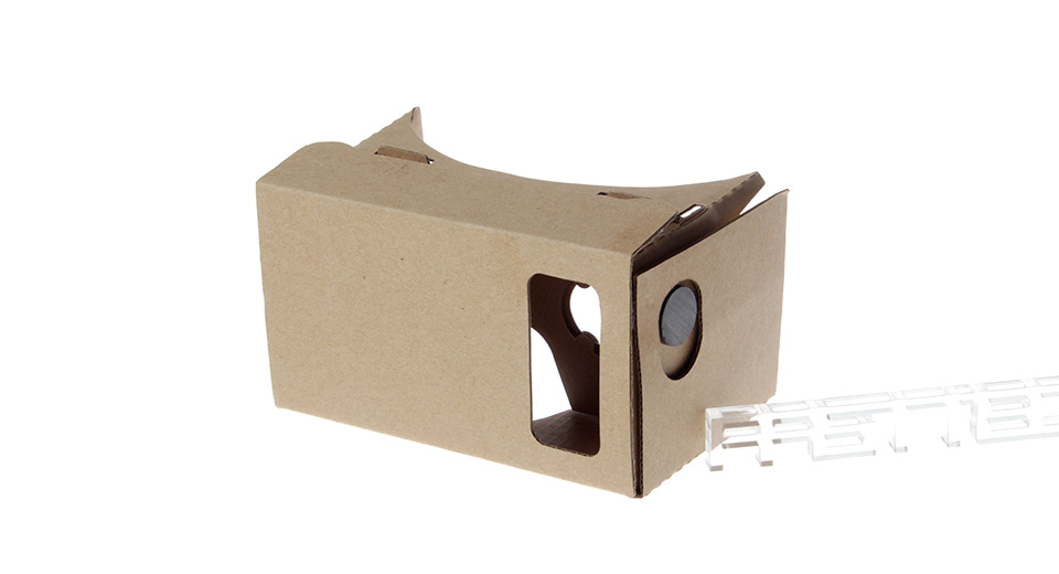 DIY Assembling Google Cardboard Virtual Reality 3D Glasses