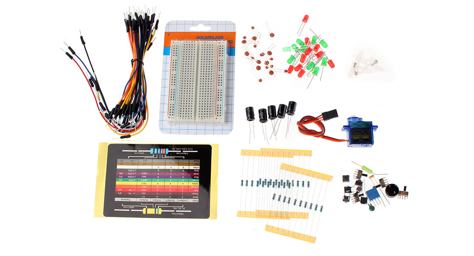 DIY Experiment Electronic Components Kit