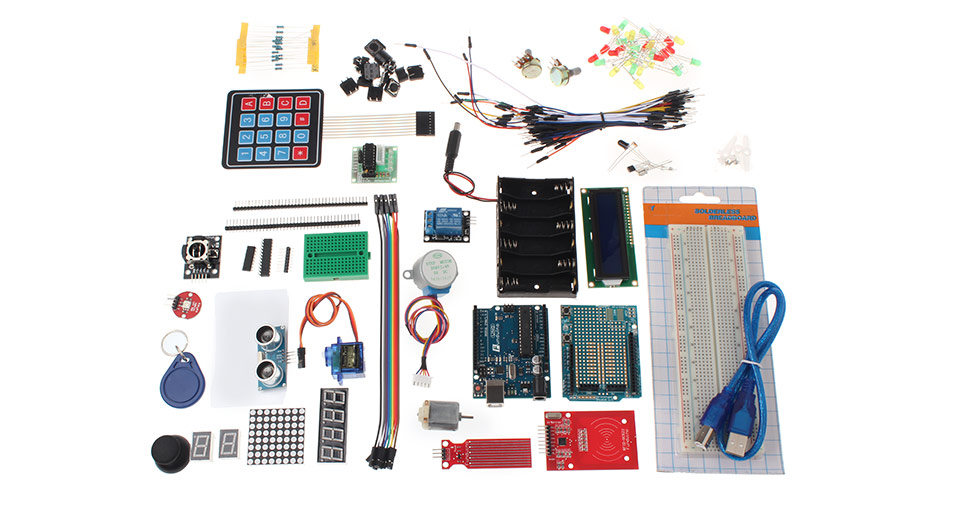 Updated Funduino UNO R3 Maker Learning Kit for Arduino