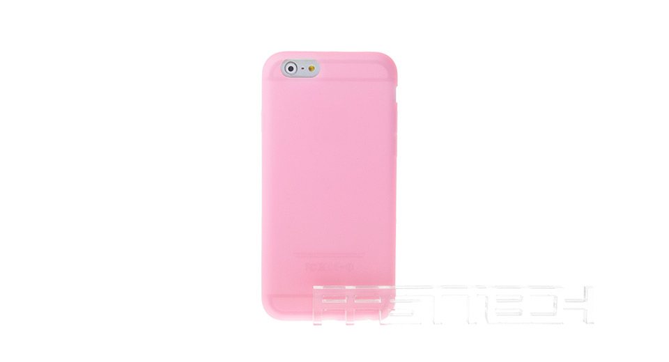 Protective Silicone Back Case for iPhone 6