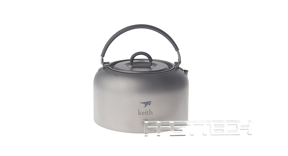 Keith Titanium Kettle Camping Picnic Cookware Pot