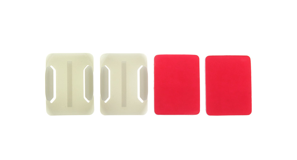 Glow-in-the-Dark Square Mount Base w/ Square Adhesive Sticker for GoPro